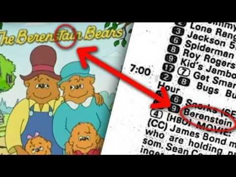 Berenstein vs Berenstain Bears