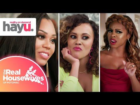 Candiace Calls Bullsh*t On Monique & Ashley | Season 4 | Real Housewives Of Potomac