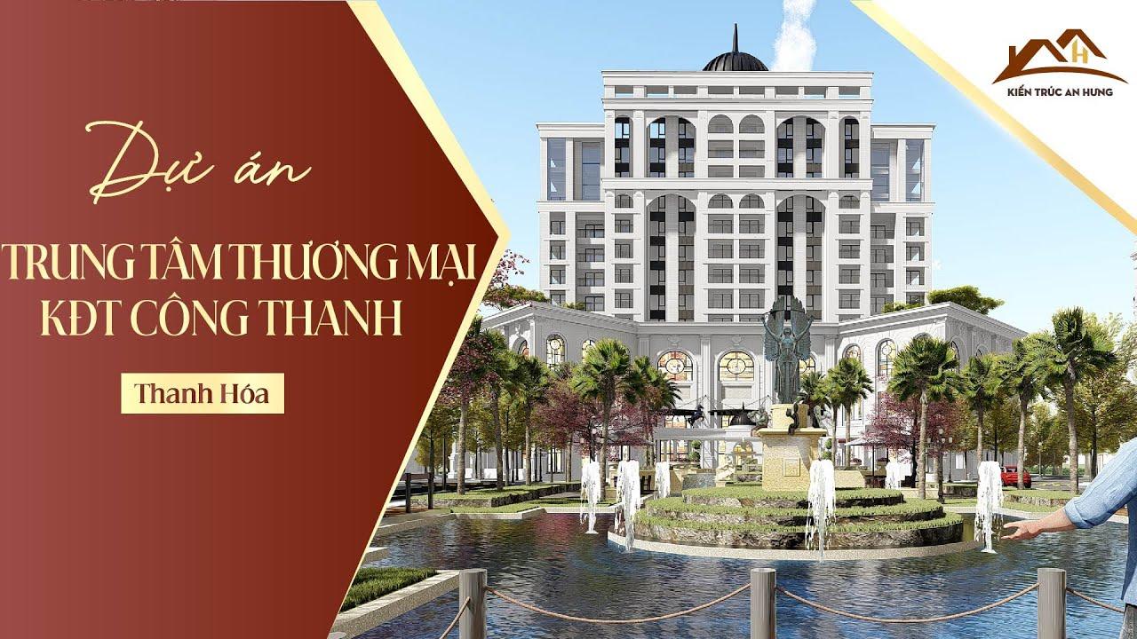 Thiết kế ý tưởng kiến trúc khu đô thị Đông Hương - Thanh Hóa - GĐ1