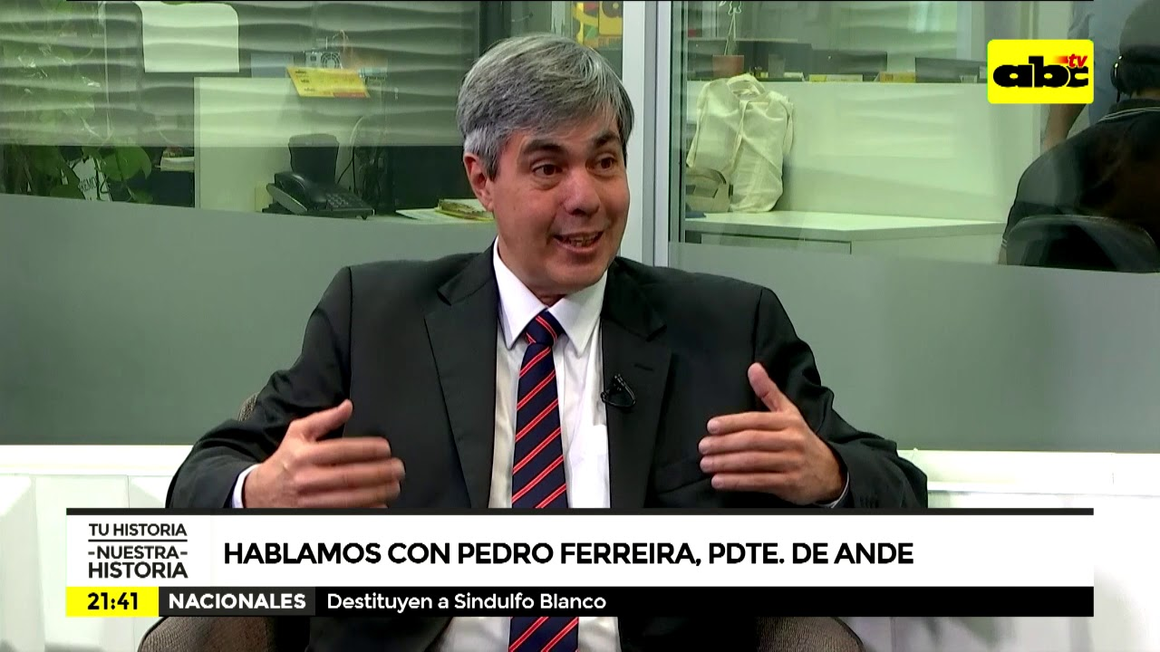Pedro Ferreira - presidente de la ANDE 1