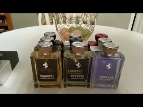My Fragrance Collection - Part 18 - Ferrari (видео)