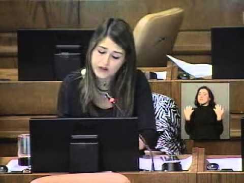Claudia Nogueira proyecto crea ministerio de la mujer