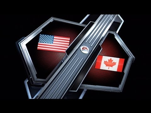 NHL 14 – Team Canada VS Team USA – Live Commentary (shaking the cobwebs)