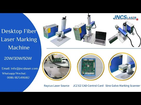 Desktop Fiber Laser Marking Machine With 20W 30W