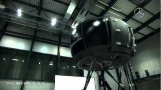 Mercedes-Benz: The most modern driving simulator