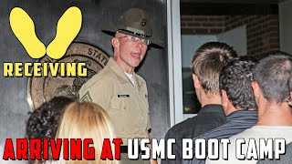 Video Receiving Phase of Marine Corps Boot Camp on Parris Island MP3, 3GP, MP4, WEBM, AVI, FLV September 2018