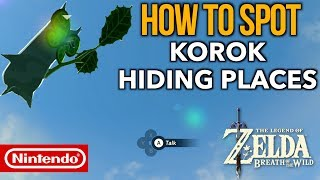 This video will show you How to Find and Spot ALL Korok Hiding Places in Zelda Breath of the Wild. These little friends like to hide in a variety of places all over Hyrule. Some spots are certainly harder to find than others. There are 900 Korok seeds in total in breath of the wild that can be discovered throughout the game which is part of an epic side quest given by Hestu from the Korok forest. Korok seeds are only used to upgrade inventory slots for Link.This video will serve as a guide for those who need a better eye for spotting these fun but sneaky and well hidden creatures. Cheers !Please make sure to like, comment, share and subscribe :) __________________________________________________CHECK OUT MY OTHER COOL VIDEOS! HOW TO FARM RARE ITEMS IN BREATH OF THE WILD:https://youtu.be/cVfWZwunjCQ?list=PLTeo8k1SzTr16dLY162pK9Yd0FTzpv4-G__________________________________________________-GEAR USED TO MAKE THIS VIDEO:1) El Gato HD60 Game Capture Card - http://amzn.to/2rUljEY2) iMac 27 Inch Retina 5K - http://amzn.to/2rBMNQJ3) Zelda: Breath of the Wild - http://amzn.to/2rBLi57DISCLAIMER: This video and description has amazon affiliate links, and this means that if you click on one of the product links above which shows the gear I used to make this video with, I'll get a small commission. This helps support my channel and allows me to grow bigger and better and continue making the best game content I can! Thank you for the support in advance! Cheers!