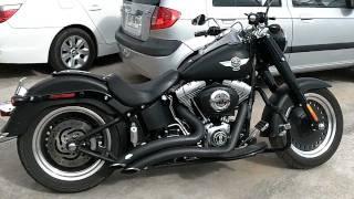 3. Harley Davidson Fatboy Lo 2011 - Dark Custom