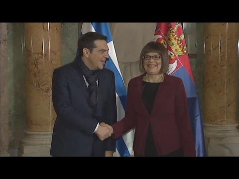 Eνίσχυση των σχέσεων Ελλάδας-Σερβίας