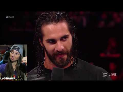 WWE Raw 2/12/18 Seth Rollins Second Chance