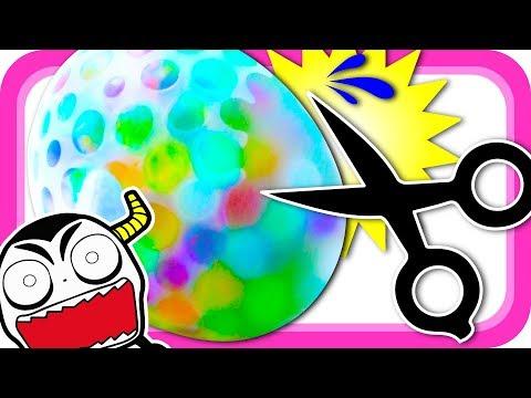 アンパンマン おもちゃ★カラフル風船スクイーズ爆弾でいたずら …