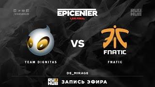 fnatic vs Dignitas, game 3