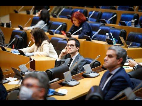Intervención de Tomás Cabezón en la Comisión del Pacto de Toledo