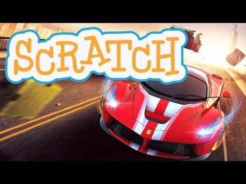 How To Make Car Racing Game In Scratch | Scratch Tutorial