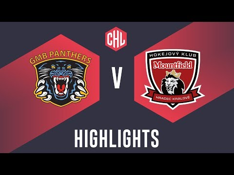 Highlights: Nottingham Panthers vs. Mountfield HK (видео)