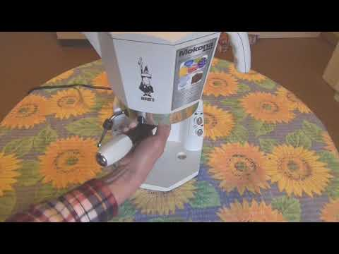 Mokona Bialetti macchina caffe espresso 20 bar silver coffe machine