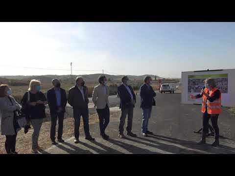 Inaugurado el acondicionamiento de la carretera de Fonz a Monzón con más de 6 millones de euros de inversión