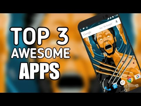 Top 3 Best Android Apps Of 2017 || Latest Fresh Awesome Apps 2017