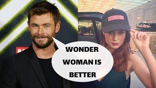 Video Chris Hemsworth HATES Brie Larson MP3, 3GP, MP4, WEBM, AVI, FLV Juni 2019