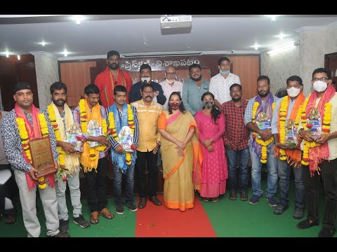 7 National Awards for Photojournalists VJF Honored Felicitation Visakhapatnam | Vizag Vision