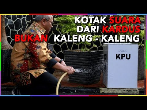 KOTAK SUARA KARDUS BUKAN KALENG – KALENG NIH !!!