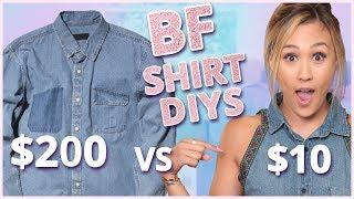 LaurDIY INSTAGRAM OUTFIT DIY CHALLENGE! | Thrift Flip