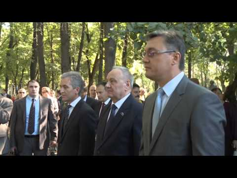 """Președintele Republicii Moldova, Nicolae Timofti, a participat la manifestațiile consacrate sărbătorii naționale """"Limba noastră cea Română"""""""