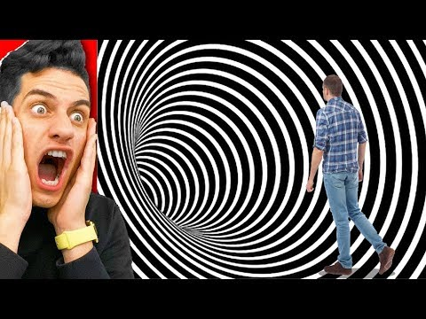 3D ILLUSIONS THAT WILL TRICK YOUR EYES and BRAIN! (CHALLENGE)