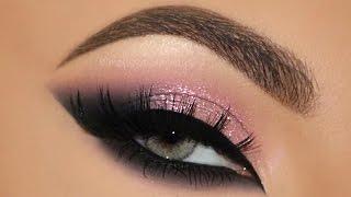 ♡ Pink Glam Cat Smokey Eyes Makeup Tutorial | Melissa Samways ♡