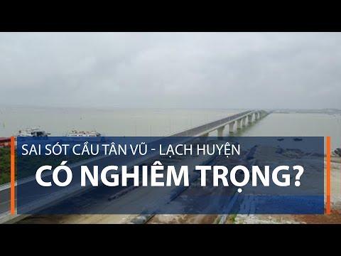 Sai sót cầu Tân Vũ - Lạch Huyện có nghiêm trọng? | VTC1 - Thời lượng: 92 giây.