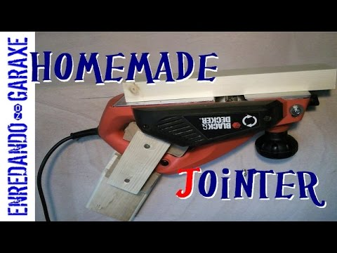 Make a jointer with a hand planer