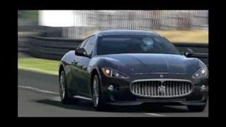 Maserati Gran Turismo S 2008 -463 Kw-1337 Kg-Testdrive In Le Sarthe-SoundDesign-2&Tuned By Morute