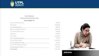 UTPL APLICACIÓN [(ÁREA ADMINISTRATIVA)(CONTABILIDAD DE COSTOS I)]