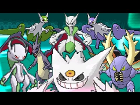 HACKER EXPOSED! 7 MEGA POKEMON LOL
