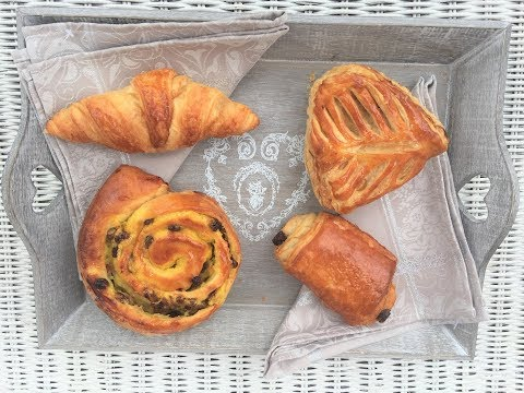 Top 4 French Breakfast Pastries French People Eat