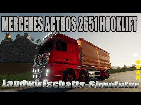 Mercedes Actros 2651 hooklift v1.0.0.0