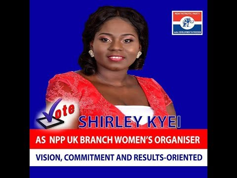 Shirley Kyei -2018 N.P.P U.K Branch Women Organiser (Hopeful)