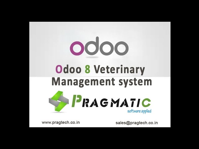 Odoo OpenERP 8 Vetrinary Management System