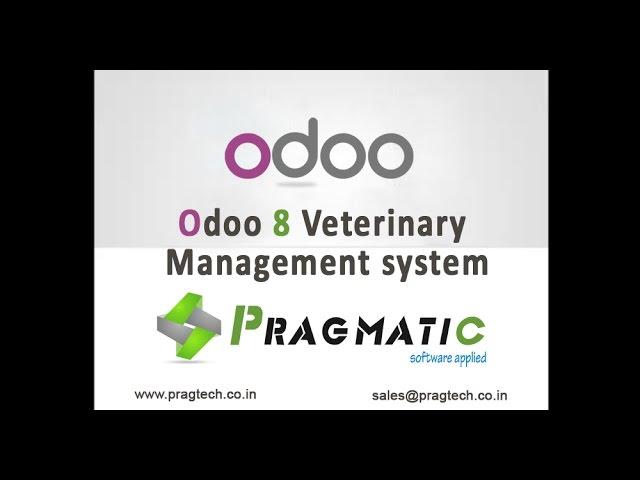 Odoo OpenERP 8 Vetrinary Management System