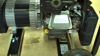 5. Small Engine Repair: Oil Change, Check RPM, Voltage, Frequency on Briggs & Stratton Generator