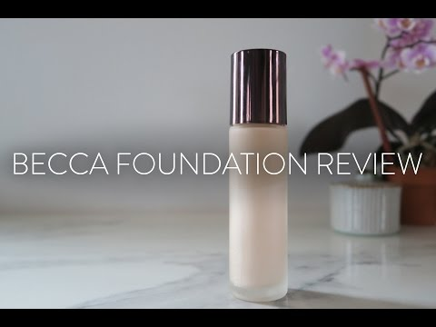 IN REVIEW | Becca Aqua Luminous Perfecting Foundation