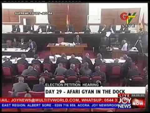Election Petition Hearing on Joy News - Day 29 (6-6-13)