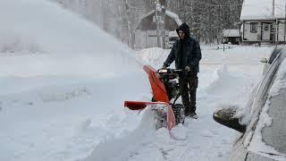5. Ariens 28+ snow blower winter 2019   291cc