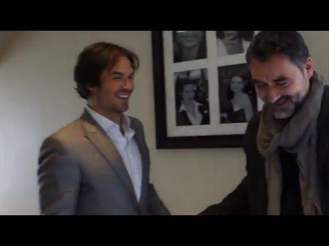 Nicolas Guerin - Ian Somerhalder - Cannes Film Festival 2015