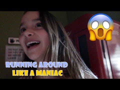 RUNNING AROUND LIKE A MANIAC 😱 (WK 352) | Bratayley (видео)