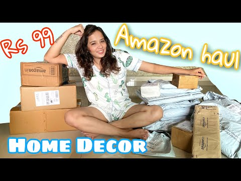 BEST AMAZON HOME DECOR HAUL || SALE starting at Rs99