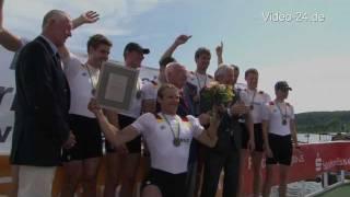 Sieg des Deutschland-Achters bei der Hügelregatta in Essen 2011