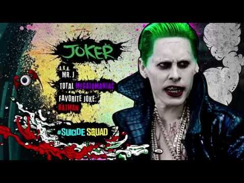 Suicide Squad: Characters Introduction Trailers