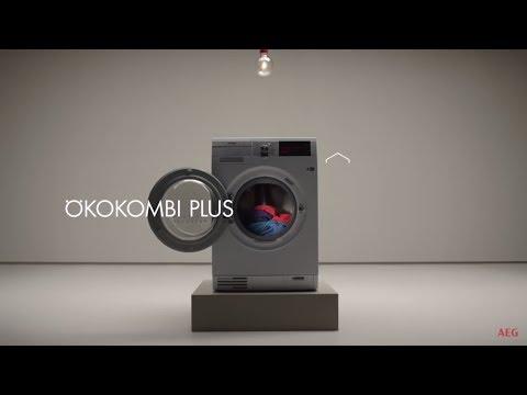 Video posnetek, ki prikazuje funkcije pralno-sušilnega stroja ÖKOKombi Plus