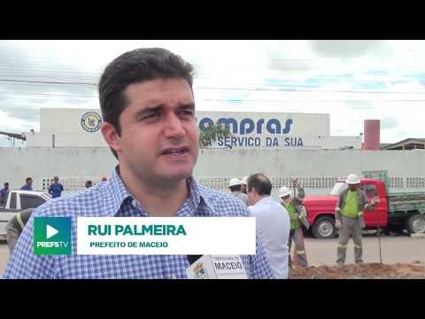 Rui Palmeira vistoria obras de reurbanização na BR-316